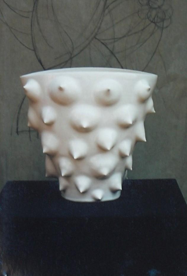DEL PIENO E DEL VUOTO scultura-vaso